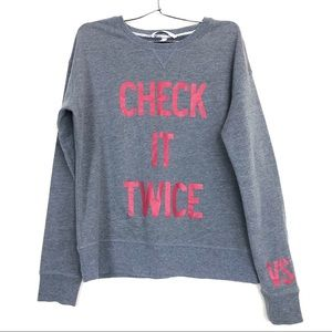 Victoria's Secret Holiday Sweatshirt Small